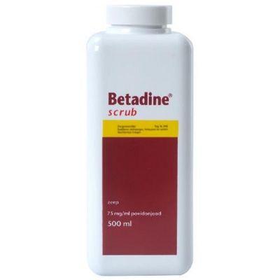 Betadine scrub 500ml.reg nl. 03446