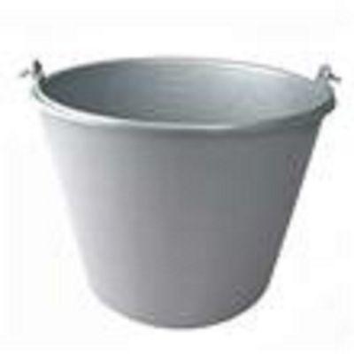 Emmer plastic 20l. grijs zwaar model