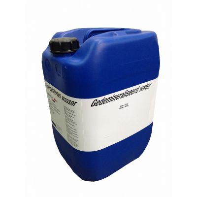 Gedemineraliseerd water 20kg.