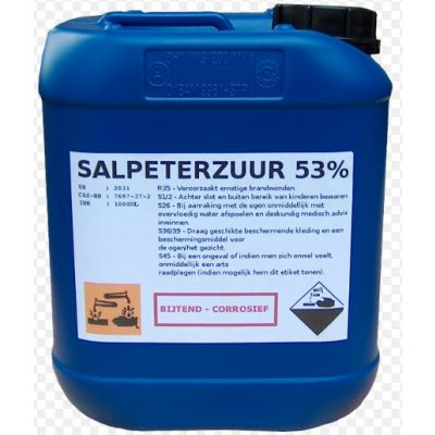Salpeterzuur 53% (36BE)- Can 26KG (28 cans)