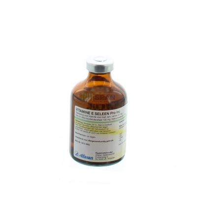 Vitamine e seleen inj. 50ml. regnl.1972