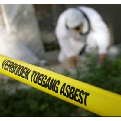 Aanvraag voor het saneren van asbest