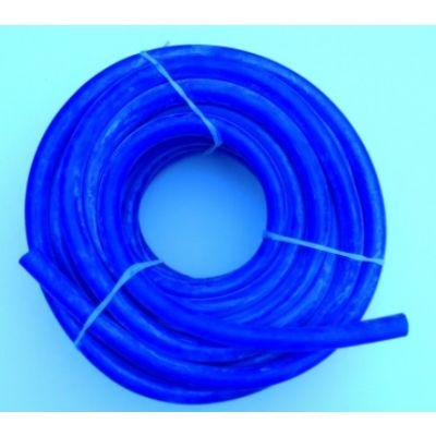 Blauwe siliconen melkslang PASSEND voor Delaval. D16 X D27, 25 meter
