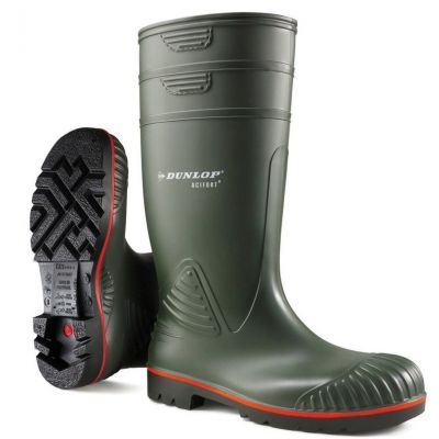 Dunlop Acifort Heavy Duty full safety Knielaars, groen (S5)