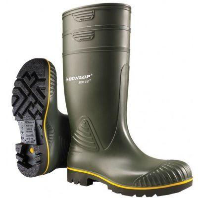 Dunlop Acifort Heavy Duty Knielaars, groen  (O)