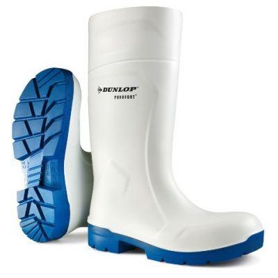 Dunlop Purofort MultiGrip Safety Knielaars, wit (S4)