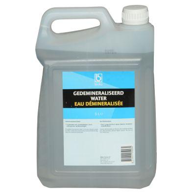 Gedemineraliseerd water, 5 liter