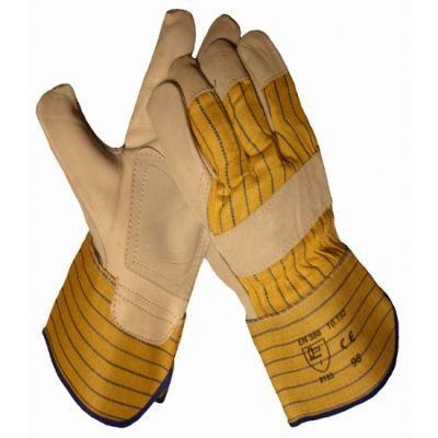 Handschoen Boxleder, palmversterking