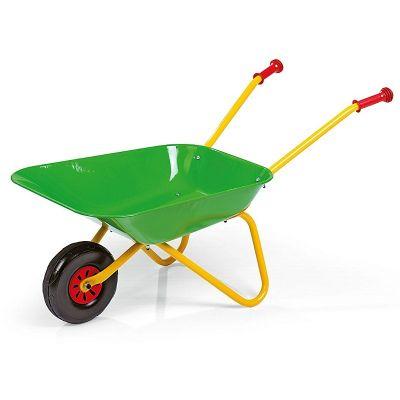 Kinderkruiwagen Rolly Toys, METALEN bak GROEN