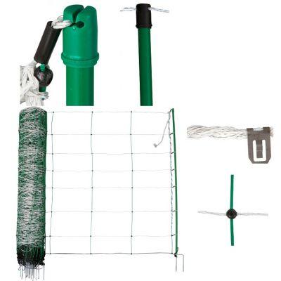 AKO Schapennet TopLine Plus Groen 90cm x 50m DUBBELE PEN