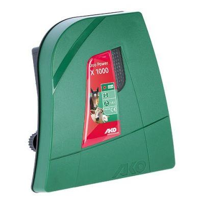AKO Duo Power X1000 combi schrikdraadapparaat, 230V/12V