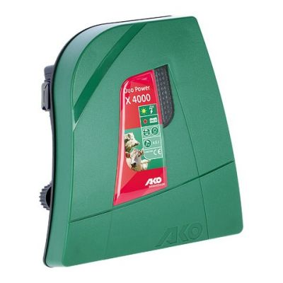 AKO Duo Power X4000 combi schrikdraadapparaat, 230V/12V