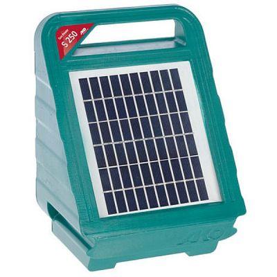 AKO Sun Power S250 schrikdraadapparaat met zonnepaneel