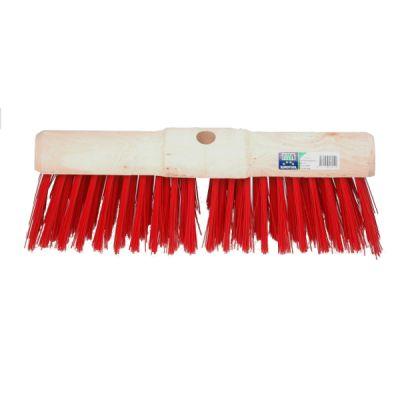 Gemeentebezem 45cm, kunstvezel rood  MM