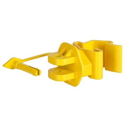 AKO PinLock isolator T-Post, geel (25 stuks)