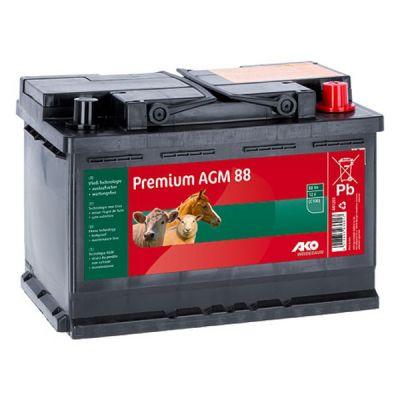 AKO Premium AGM vliesaccu 88 Ah