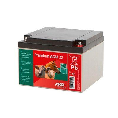 AKO Premium AGM vliesaccu 32 Ah