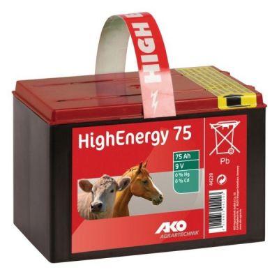 AKO High Energy Saline batterij 9V, 75 Ah