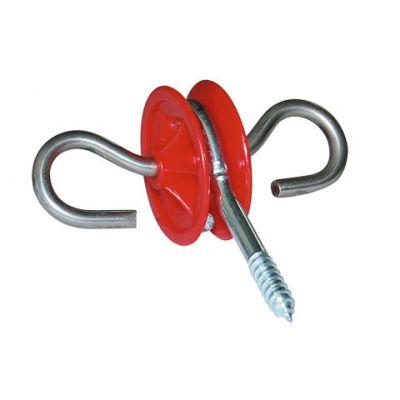 AKO Poortgreepanker -RVS- rood met 2-ogen (blister 6 st)