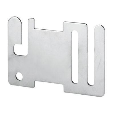 AKO Aansluitplaat RVS voor poortgreepisolator (zakje 10 st)