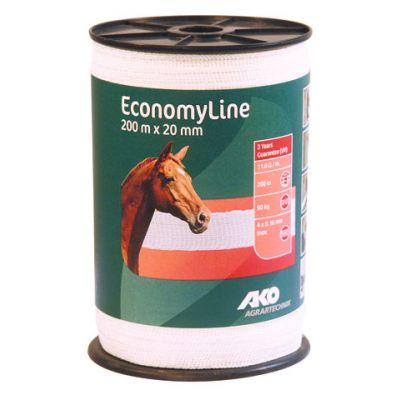 AKO EconomyLine schriklint wit 2cm-200m