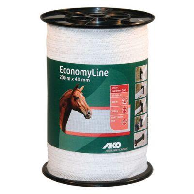 AKO EconomyLine schriklint wit 4cm-200m