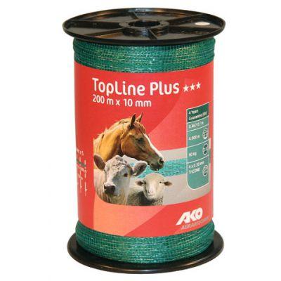 AKO TopLine Plus schriklint groen 1cm-200m