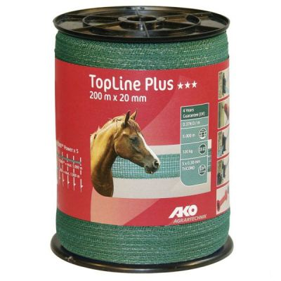 AKO TopLine Plus schriklint groen 2cm-200m