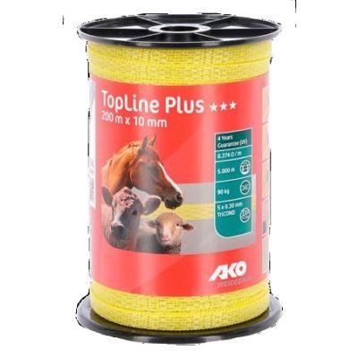 AKO TopLine Plus schriklint geel 1cm-200m