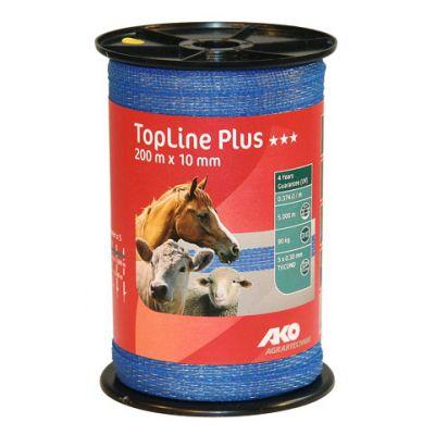 AKO TopLine Plus schriklint blauw 1cm-200m