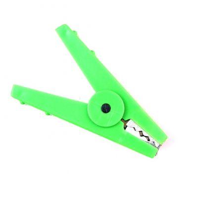 Krokodillenklem groen