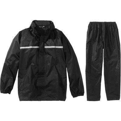 Regenpak Basic, zwart