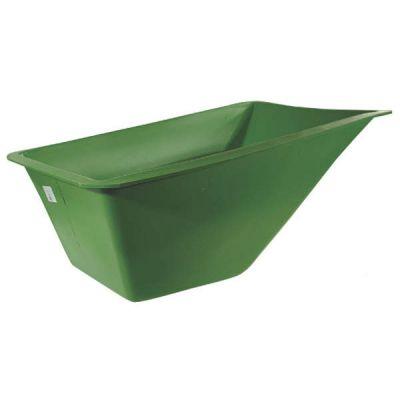 Bak voor kruiwagen, polyester 160L (PE160/PE1602)