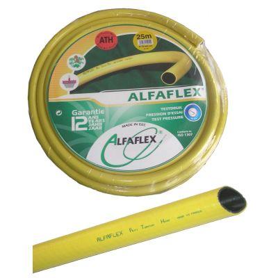 "ALFAFLEX slang geel 1 1/4"" (=32mm), 50m."