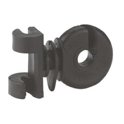 Klemm-fix isolator, zwart (50 stuks)