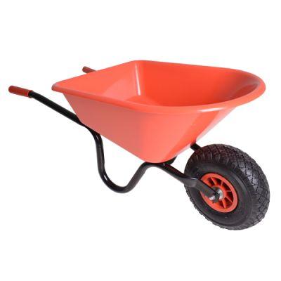 Kinderkruiwagen -MM- ROOD metaal/kunststof