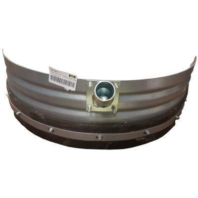 Mestschuif rond ZWAAR -89cm- met canvasgummi
