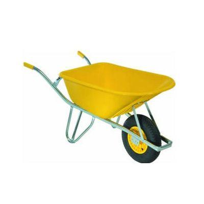 Kruiwagen Fort, 100L, -straatmakers- geel
