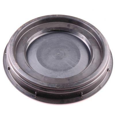 Deksel 2-delig(deksel+ring) voor voerton 25/60L.(30cm)