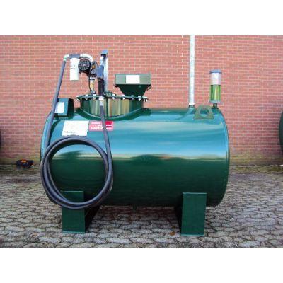 KIWA gekeurde bovengronds stalen brandstoftank | dubbelwandig