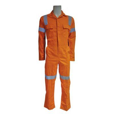Signalisatie overall katoen oranje