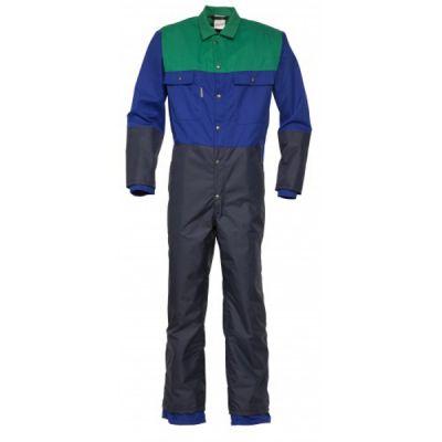 Melkersoverall Havep 2041 blauw/groen poly/katoen