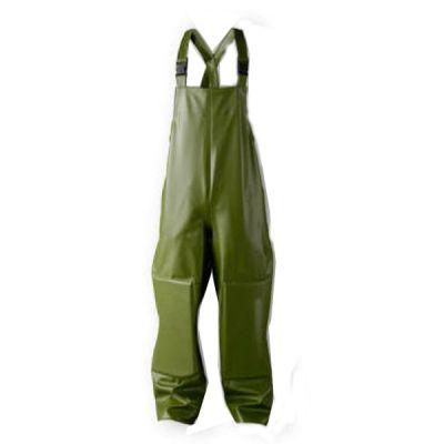 Tuinbroek met kniestukken Dolfing groen P1