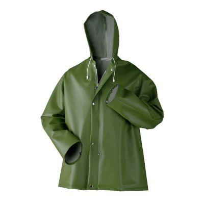 Regenjas Dolfing groen P1