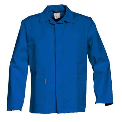 Havep Korte jas / vest 3054 korenblauw katoen