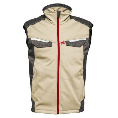 Havep Attitude bodywarmer 50184, Zand/Charcoal grijs