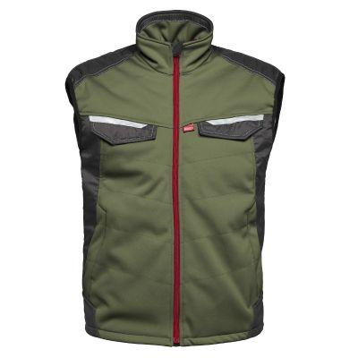 Havep Attitude bodywarmer 50184, Groen/Charcoal grijs