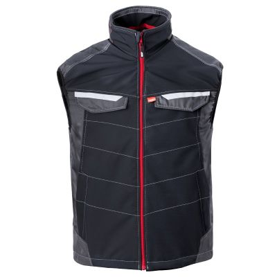 Havep Attitude bodywarmer 50184, Zwart/Charcoal grijs