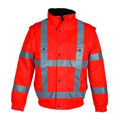 All season jack RWS High Visibility Havep fluo oranje