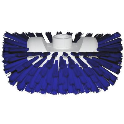 Hygiene tankborstel blauw 22cm